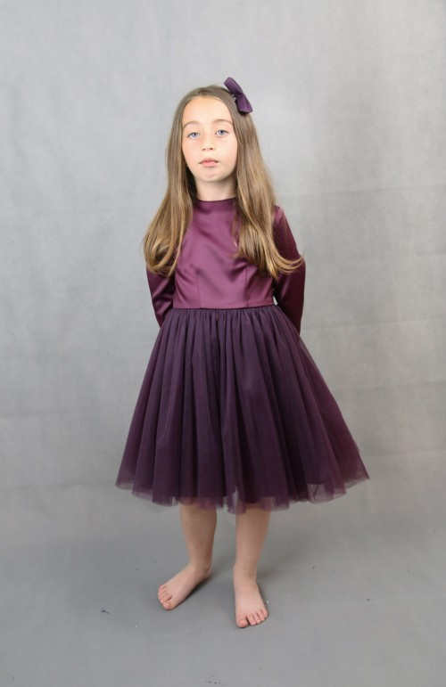 ANTONIA burgundy